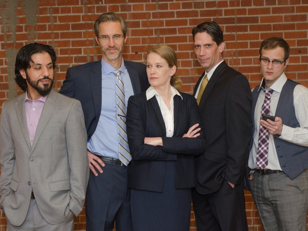 The cast of Ideation. (Photo: Michael Ensminger)