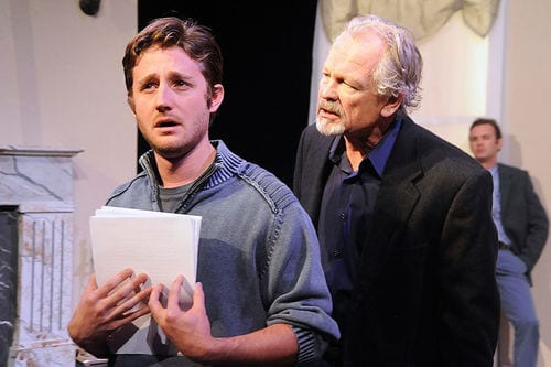 """Seminar"" by Theresa Rebeck. Sean Scrutchins and John Ashton"