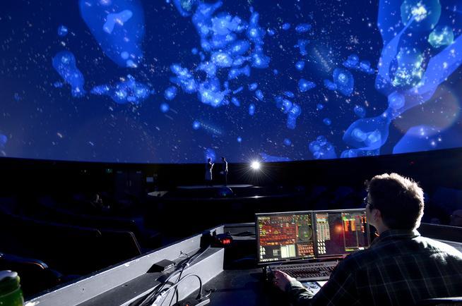 """Vera Rubin"" performance a collaboration of BETC and Fiske Planetarium"