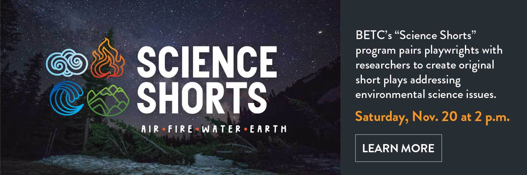 Science Shorts 2021 slider