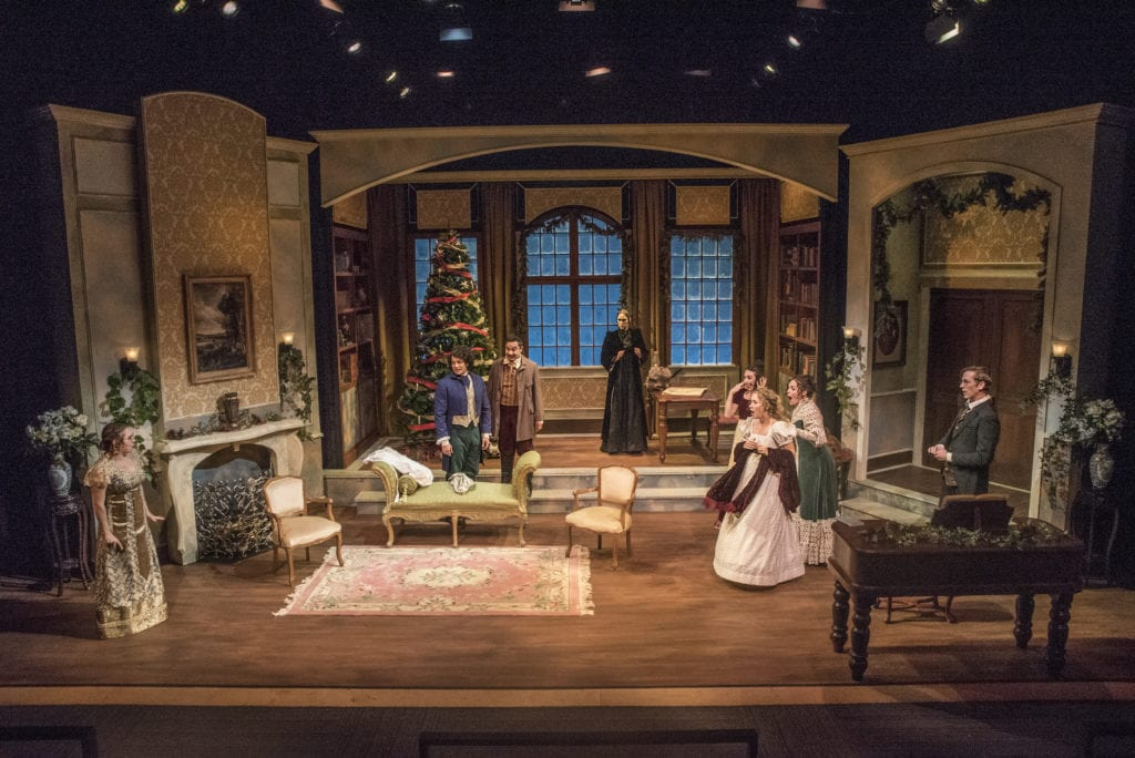 Miss Bennet Christmas At Pemberley.Answering Your Questions About The Set Design For Miss Bennet